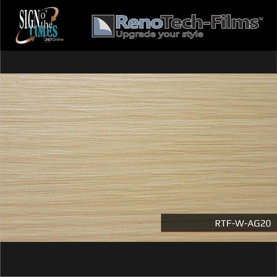 RTF-W-AG20-122 Holzoptik helle cremefarbende Buche strukturiert-1