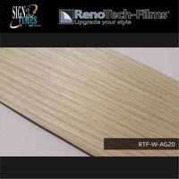 thumb-RTF-W-AG20-122 Holzoptik helle cremefarbende Buche strukturiert-2