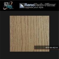 thumb-RTF-W-AG14-122  Holzoptik creme-goldene Eiche strukturiert-1