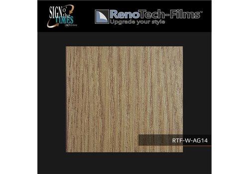 Renotech RTF-W-AG14-122 Holzoptik creme-goldene Eiche strukturiert