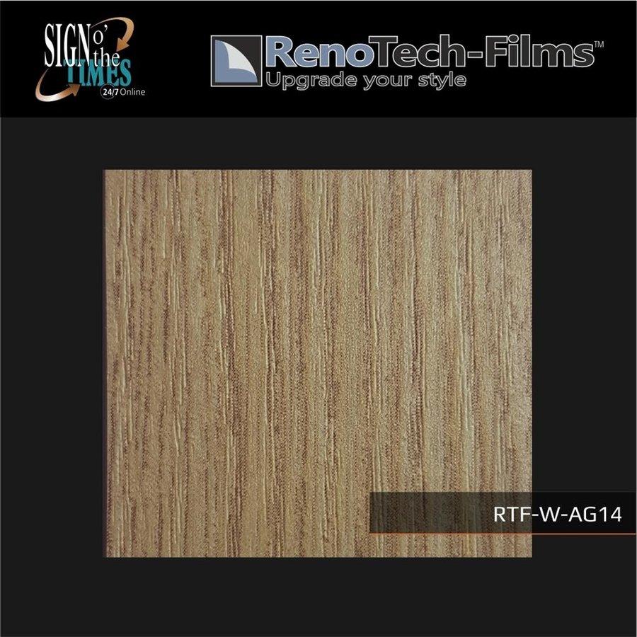 RTF-W-AG14-122  Holzoptik creme-goldene Eiche strukturiert-1
