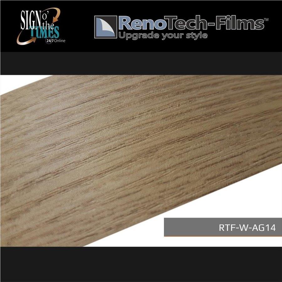 RTF-W-AG14-122  Holzoptik creme-goldene Eiche strukturiert-2
