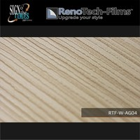 thumb-RTF-W-AG04-122  Holzoptik hell-creme Ebenholz strukturiert-1