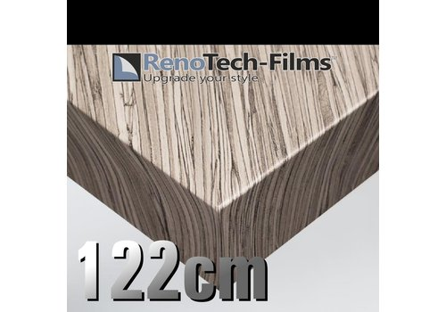Renotech RTF-W-AD06-122  Holzoptik Graues Zusammengesetztes Holz strukturiert