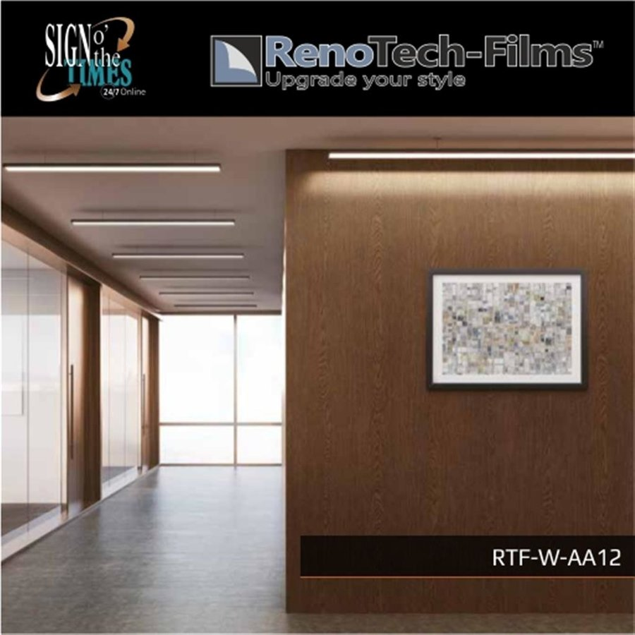 RTF-W-AA12-122   Holzoptik Brown Line Eiche strukturiert-3