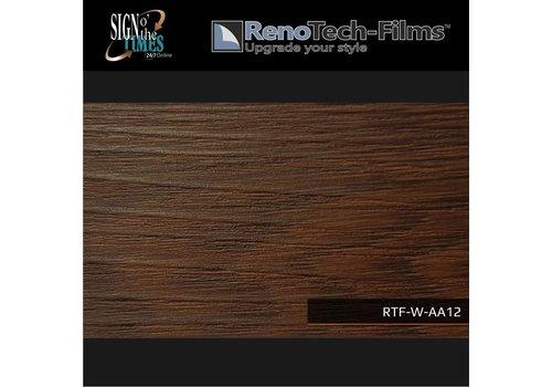 Renotech RTF-W-AA12-122   Holzoptik Brown Line Eiche strukturiert