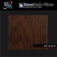 thumb-RTF-W-AA12-122   Holzoptik Brown Line Eiche strukturiert-2