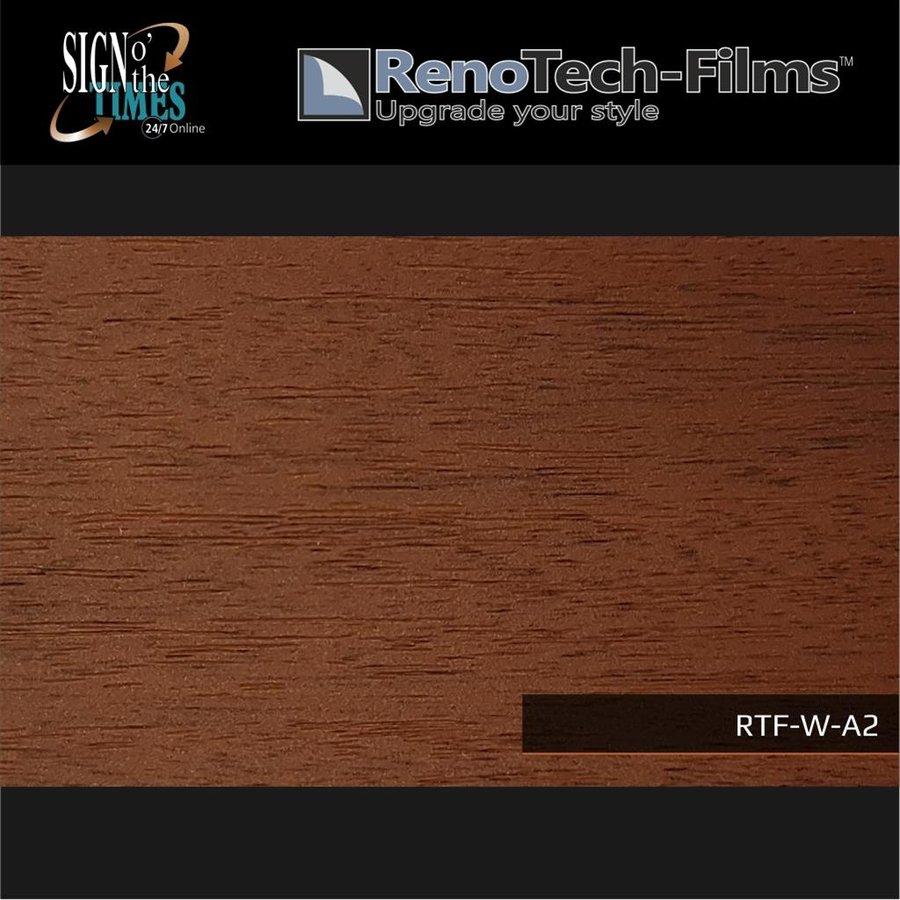 RTF-W-A2-122  Holzoptik Wenge Medium strukturiert-2