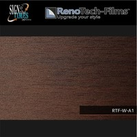 thumb-RTF-W-A1-122  Holzoptik Wenge Dunkel strukturiert-2