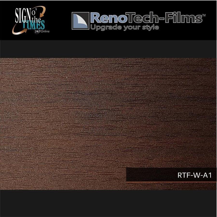 RTF-W-A1-122  Holzoptik Wenge Dunkel strukturiert-2