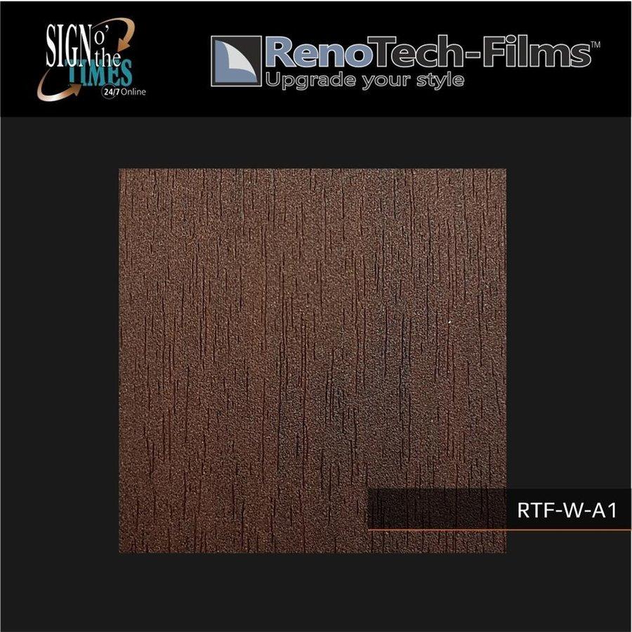 RTF-W-A1-122  Holzoptik Wenge Dunkel strukturiert-3