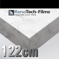 RTF-MA-MK13-122  leicht geaderter weißer Marmor