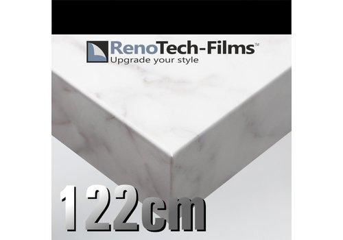 Renotech RTF-MA-MK13-122 leicht geaderter weißer Marmor