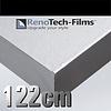 Renotech RTF-MT-S7-122 leicht gebürstetes Silber