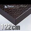 Renotech RTF-L-X7-122 dunkelbraunes Schlangenhautleder