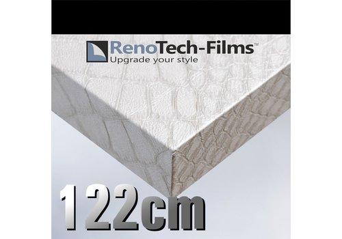 Renotech RTF-L-X5-122  Perlmutt Krokodilhautleder