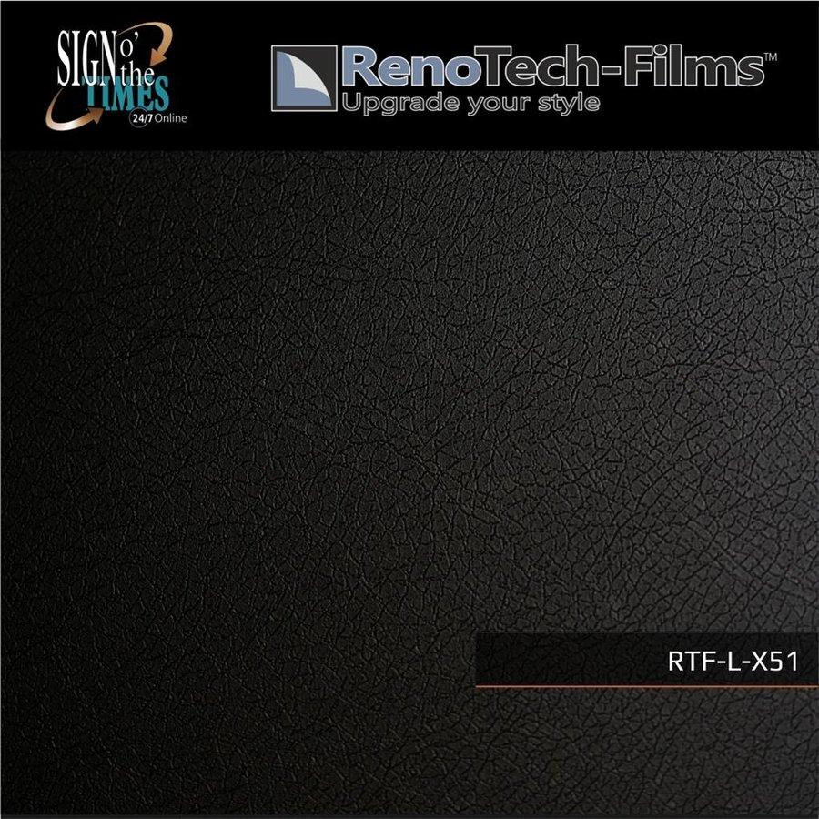 schwarzes Leder RTF-L-X51-122-2