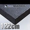 Renotech Leder Silber + Schwarz RTF-L-V1-122