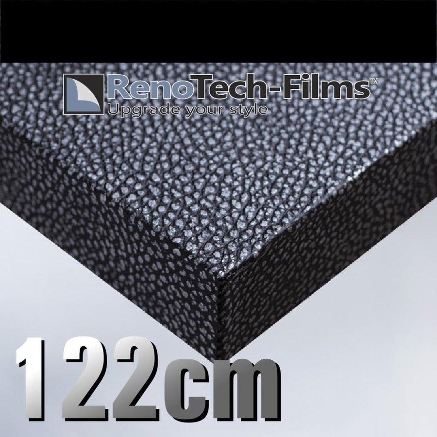 Leder Silber + Schwarz RTF-L-V1-122-1