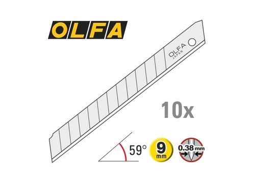 OLFA® 120-AB-10 9mm Silber Abbrechklingen -10er Pack