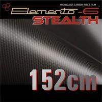 thumb-W-1917 ELEMENTO-6 -Stealth Carbonfaser matt-satiniert 152cm-1
