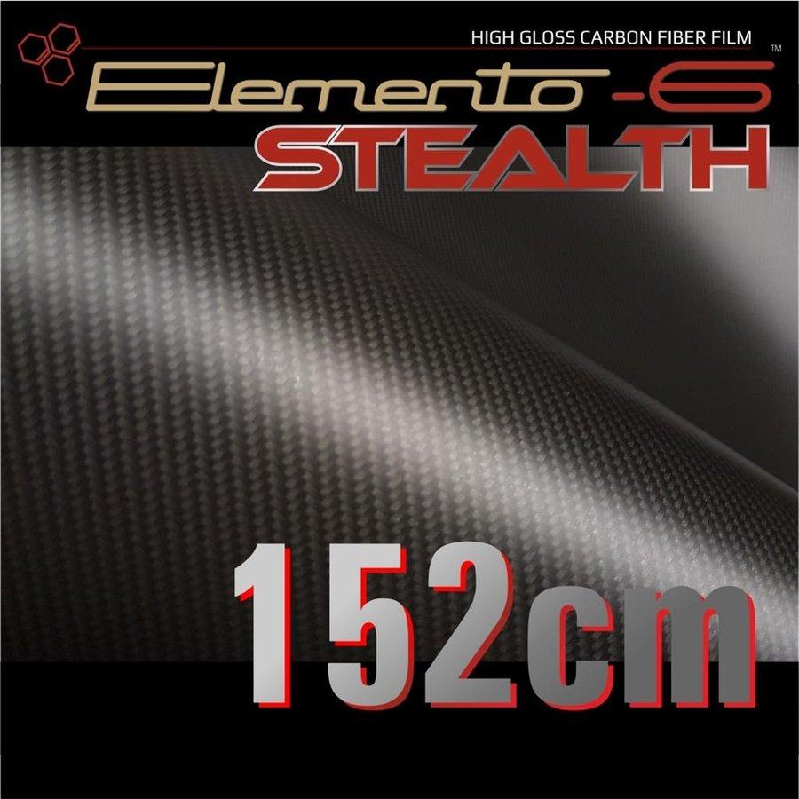 W-1917 ELEMENTO-6 -Stealth Carbonfaser matt-satiniert 152cm-1