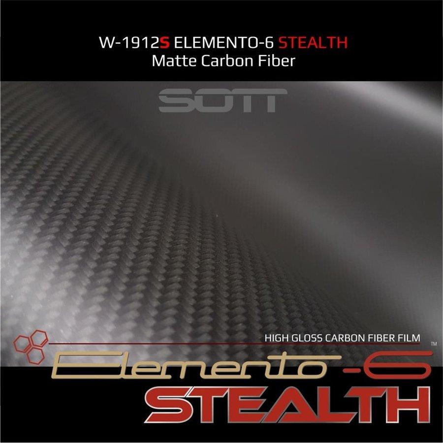 W-1917 ELEMENTO-6 -Stealth Carbonfaser matt-satiniert 152cm-4