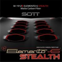 thumb-W-1917 ELEMENTO-6 -Stealth Carbonfaser matt-satiniert 152cm-7