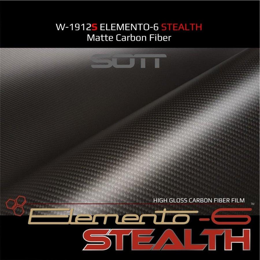 W-1917 ELEMENTO-6 -Stealth Carbonfaser matt-satiniert 152cm-8