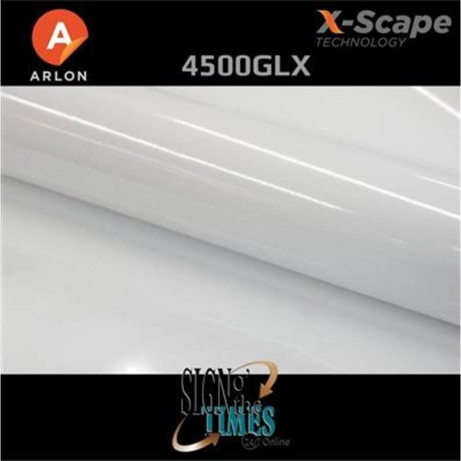 Arlon DPF 4500GLX X-Scape™ Glanz Weiß Film 137cm-3