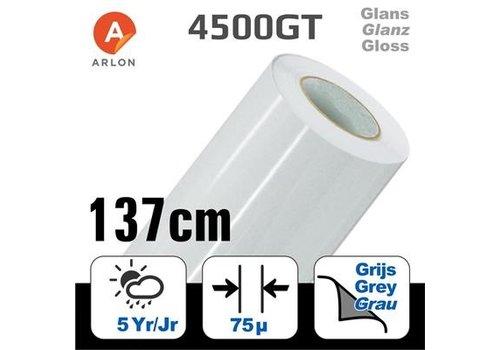 Arlon DPF 4500GT Glanz Weiß -graue Kleber 137cm