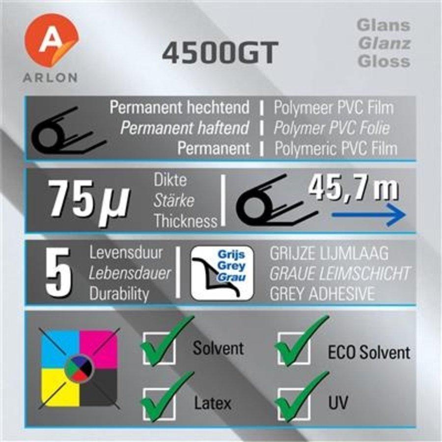DPF 4500GT Glanz Weiß -graue Kleber 137cm-2