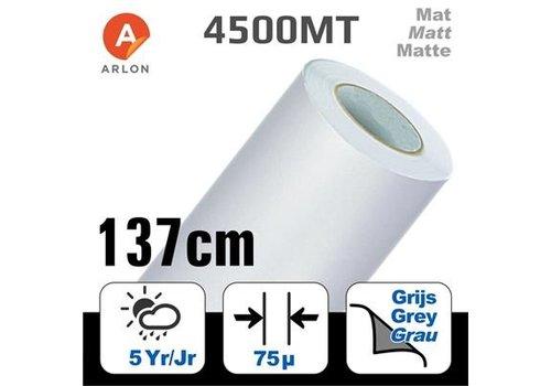 Arlon DPF 4500MT Matte -grauer Kleber 137cm
