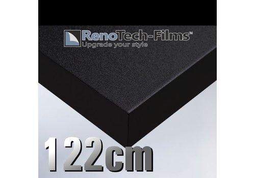 Renotech RTF-SC-K1-122 Samt Matt Schwarz -strukturiert