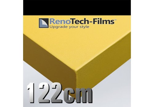 Renotech RTF-SC-M0-122 Matte Sonneblume Struktur (RAL 1003)