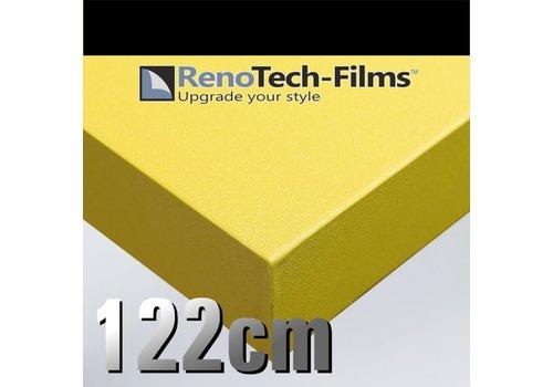 Renotech RTF-SC-M8-122 Mattes Zitronengelb - Struktur