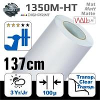 thumb-DP-1350M-HT-140 DigiPrint H.Tack Fassaden-Folie Matt Weiß -monom.-1