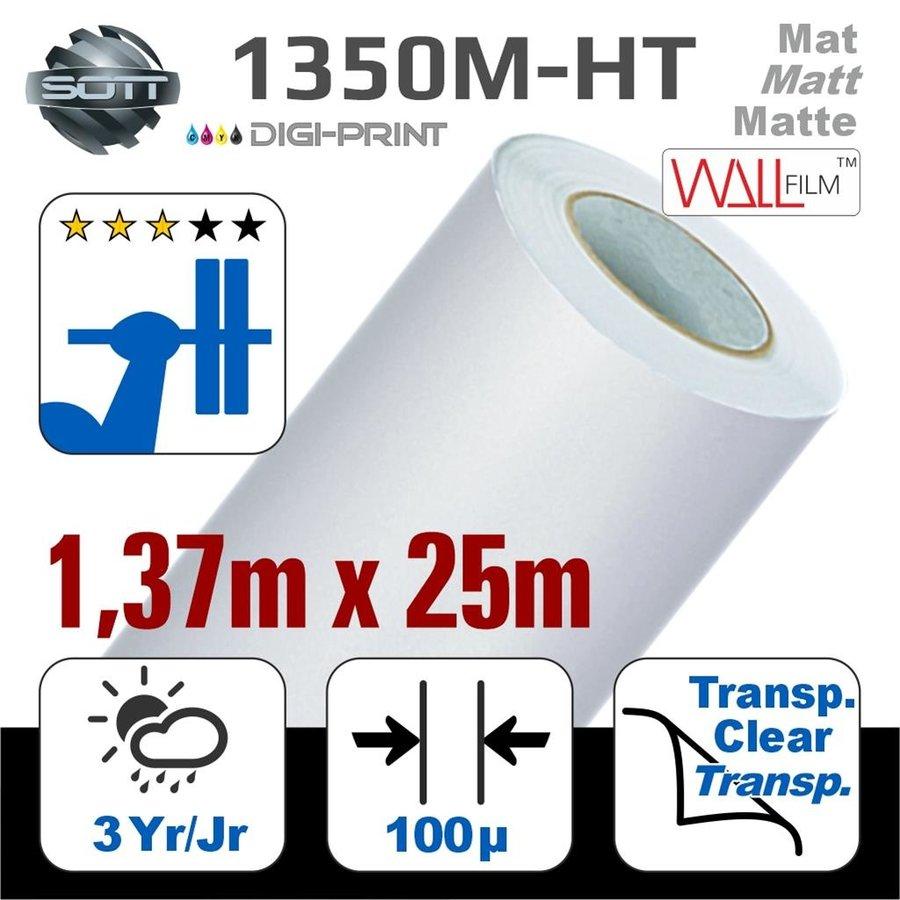 DP-1350M-HT-140 25m  DigiPrint H.Tack Fassaden-Folie Matt Weiß -monom.-1