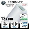 SOTT® DP-4320M-CR-137 DigiPrint TexTR150™ Canvas Wall-Folie Matt Weiß