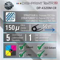 thumb-DP-4320M-CR-137 DigiPrint TexTR150™ Canvas Wall-Folie Matt Weiß-2