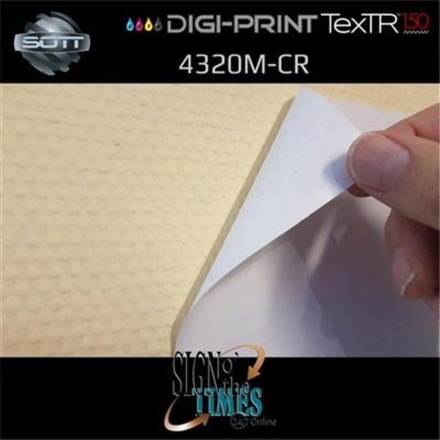 DP-4320M-CR-137 DigiPrint TexTR150™ Canvas Wall-Folie Matt Weiß-5