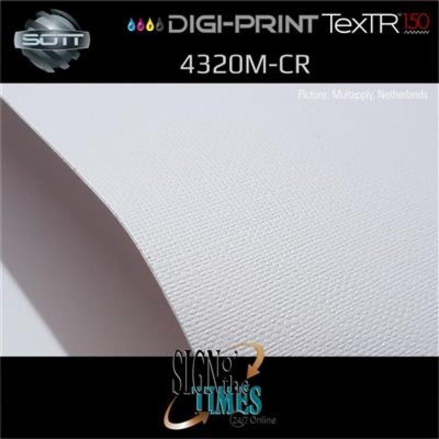 DP-4320M-CR-137 DigiPrint TexTR150™ Canvas Wall-Folie Matt Weiß-7