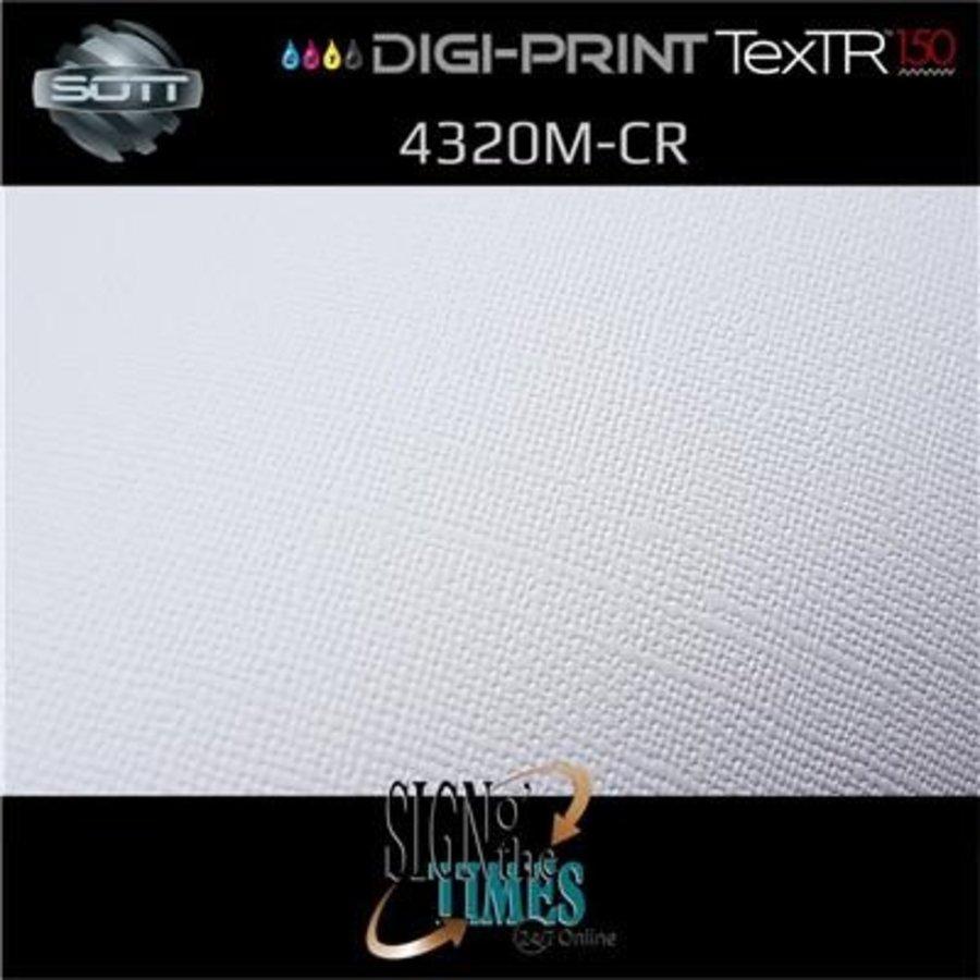 DP-4320M-CR-137 DigiPrint TexTR150™ Canvas Wall-Folie Matt Weiß-8