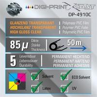 thumb-DP-4910C-137 DigiPrint X-Cast™ Glanz Transparent -137cm-2