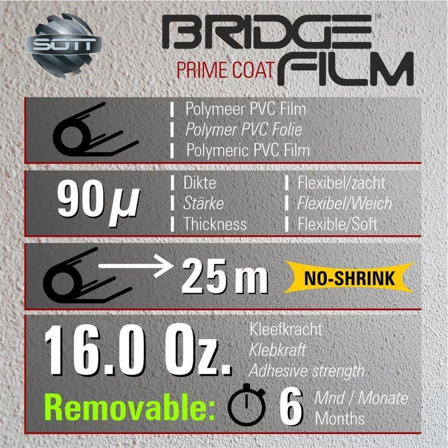 BridgeFilm 2050 Restlos Ablösbar Seidenmatt 137cm-2