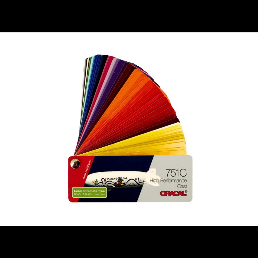 Oracal Farbfächer 751 C-1