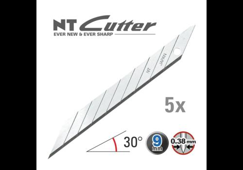 NT-Cutter® BD100 Abbrechklingen 30° Superscharf 5Klingen