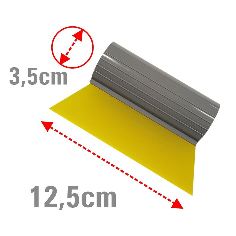 Mediumline Yellow Turbo Squeegee 14cm -big tube 150-003BT-1