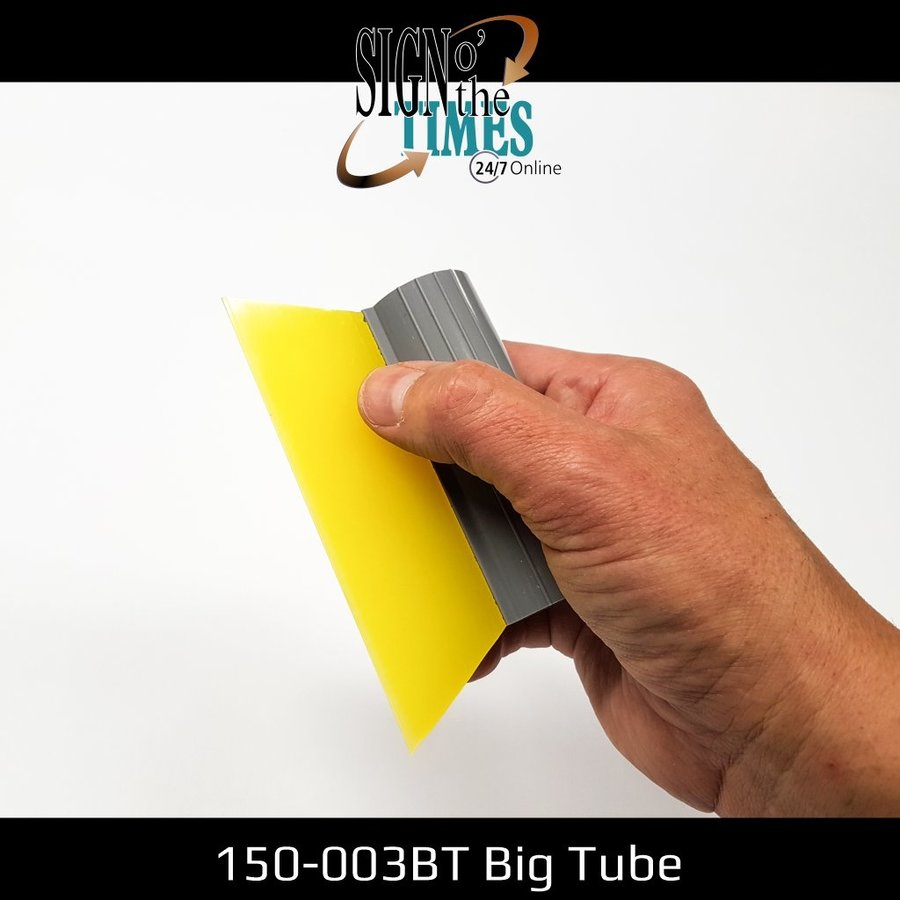 Mediumline Yellow Turbo Squeegee 14cm -big tube 150-003BT-2
