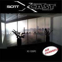 thumb-Glasdekor Folie X-Cast Etched Glass AirScape 122cm XC-1200X-122-3